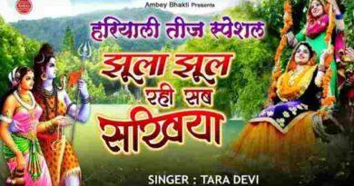 jhula jhul rahi sab sakhiya bhajan